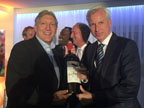 Mark coote with Alan Pardew