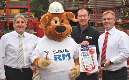 Save Radio Marsden Appeal with Formark Scaffolding